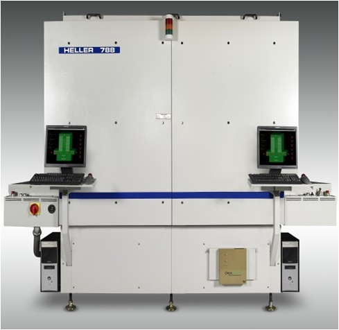Heller 788 In-line, Continuous Cure, Vertical Format Oven pic