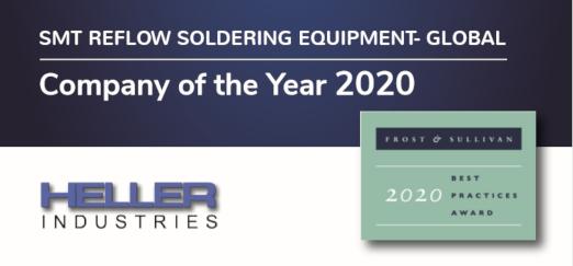 Heller Industries Frost & Sullivan Award 2020