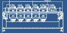 1505 MK7 SMT Reflow Oven